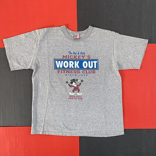 VINTAGE MICKEY'S WORK OUT CLUB TEE