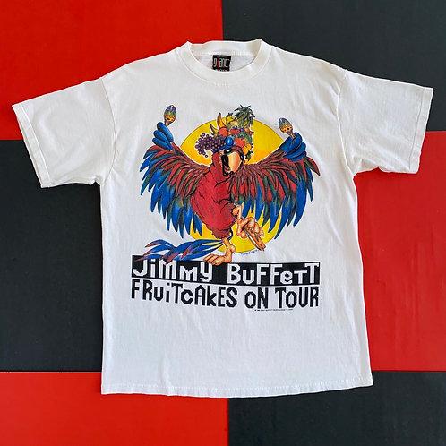 VINTAGE 1994 JIMMY BUFFET FRUITCAKES ON TOUR TEE