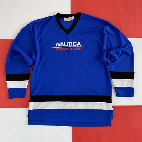 VINTAGE NAUTICA COMPETITION HOCKEY JERSEY