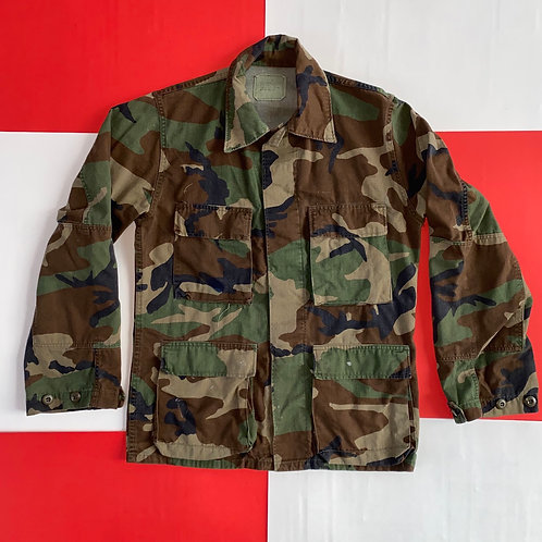 ARMY CAMO TACTICAL BUTTON UP JACKET