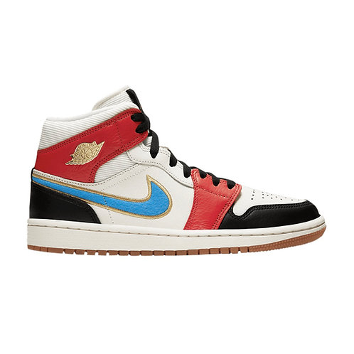 WOMEN'S AIR JORDAN 1 MID SE 'LET(HER)MAN' (2020)