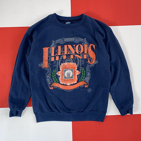 VINTAGE ILLINOIS CREWNECK