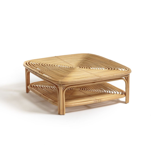 Table basse en rotin Calamus