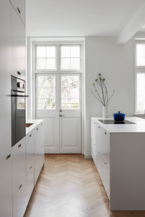 Façade cuisine blanche &SHUFL