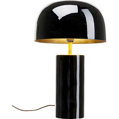 LAMPE DE TABLE NOIRE GLOSS