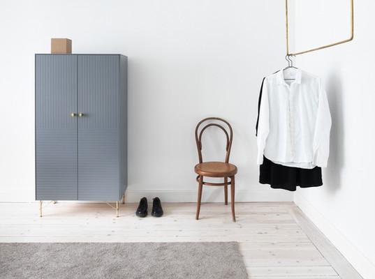 Façade armoire bleueSUPERFRONT