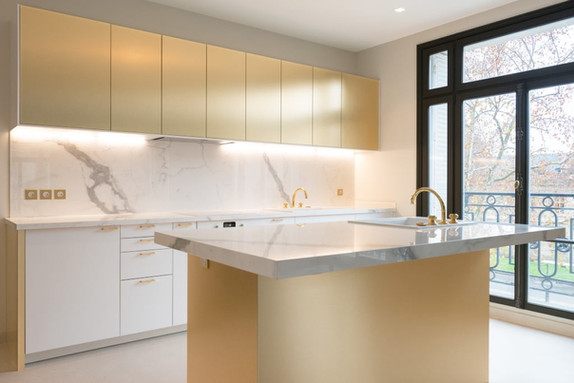 Façade cuisine marbre BOCKLIP