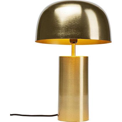 LAMPE DE TABLE BROSSÉE DORÉE