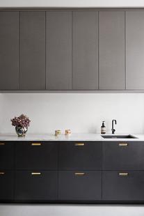 Façade cuisine noire &SHUFL