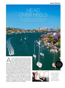 Harpers Bazaar Travel - Qantas