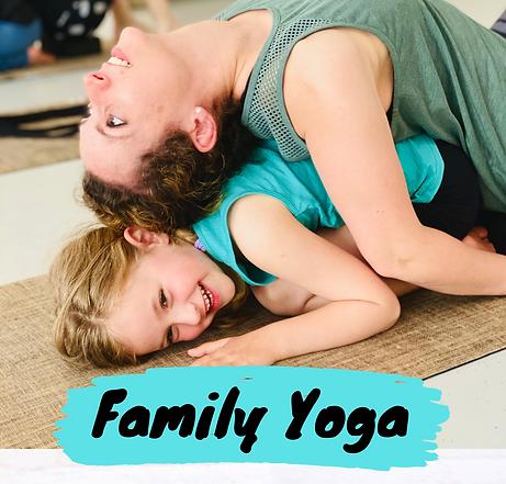 Family Yoga Kids Yoga Little Yogi