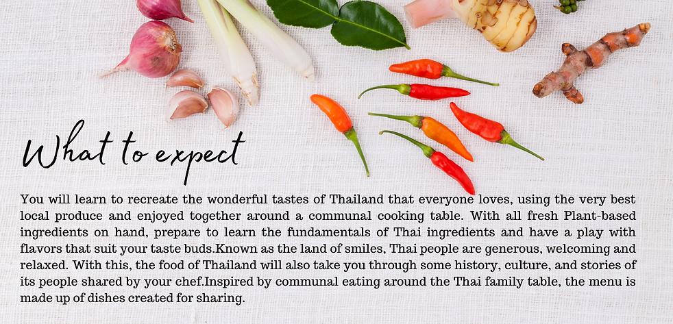 One Peace - Vegan Thai Cooking Class