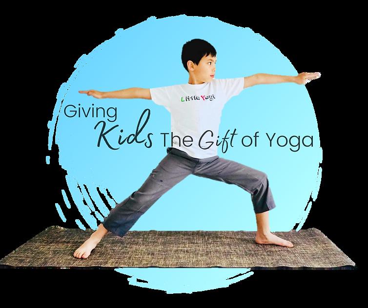 Kids Yoga Warrior II Little Yogi Sutherland shire Miranda