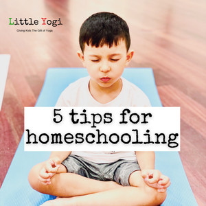5 tips on how to create less stressful homeschooling.