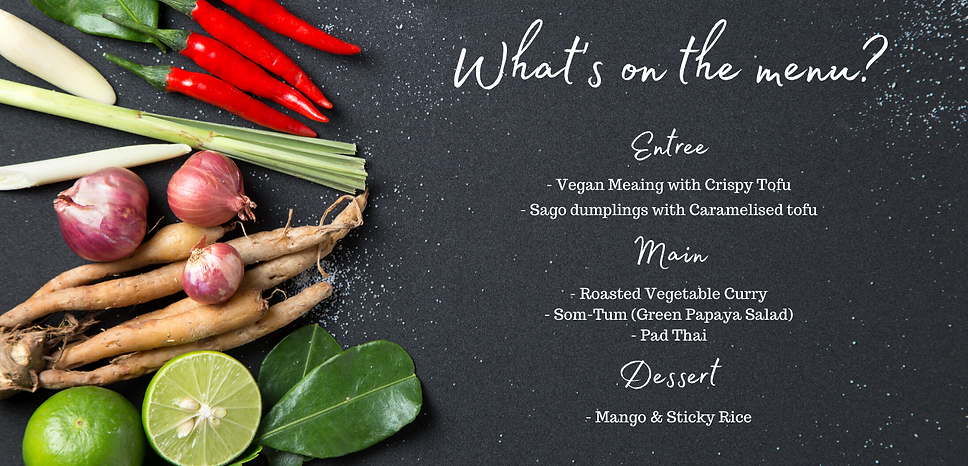 One Peace - Vegan Thai Cooking Class