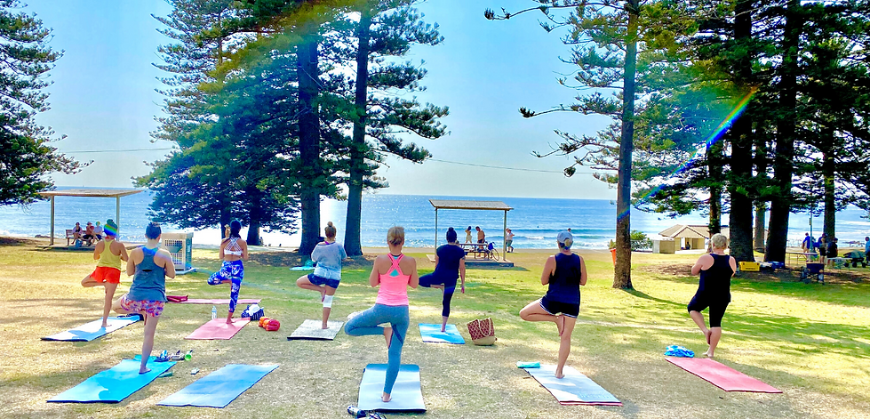Outdoor Beach with Ying Bean Cronulla Shelly park