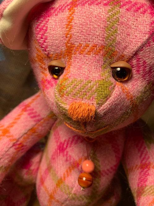 Pink Harris Tweed