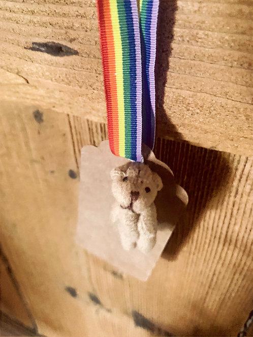 Micro Bear Keepsake Tag/Decoration