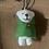 Thumbnail: Agatha Cloaked Bear Decoration