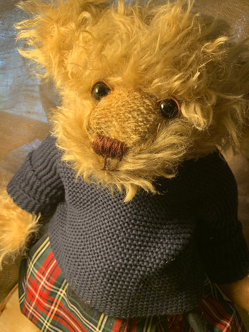 AGATHA, schulte steiff mohair bear