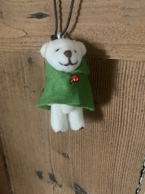 Agatha Cloaked Bear Decoration
