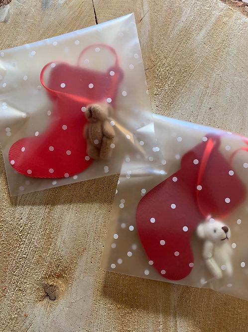 4 Bear Tag Christmas Keepsakes