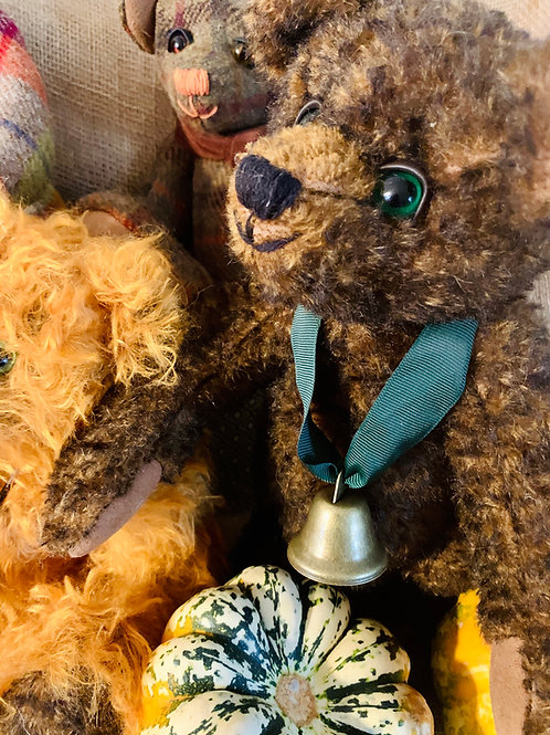 Autumn Stiff Mohair Bear
