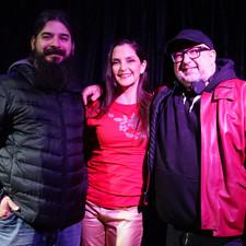 Con Ariel Bermani y Diego Rosake