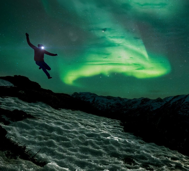 KILIAN JORNET IN THE NORTHERN LIGHTS