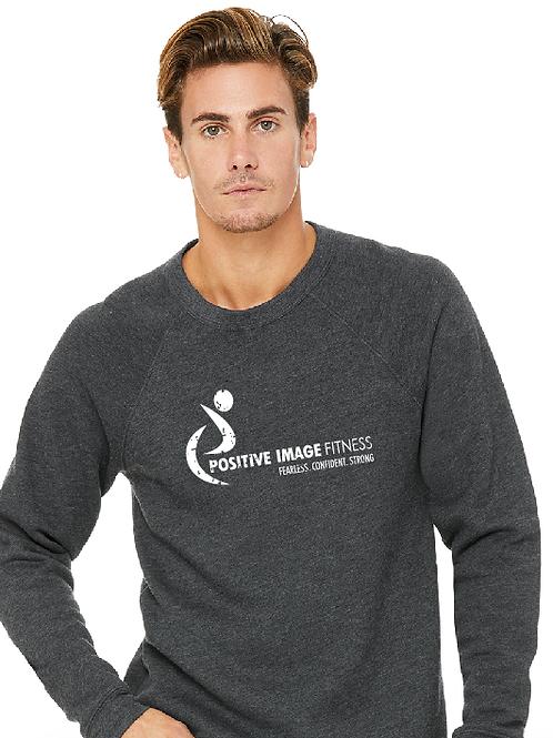 Unisex Crew Neck Grey Sweatshirt