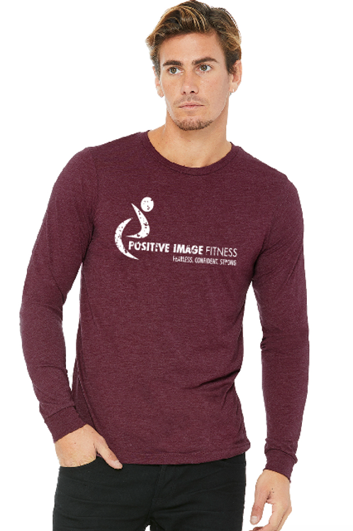Unisex Jersey Long-Sleeve T-Shirt - Maroon
