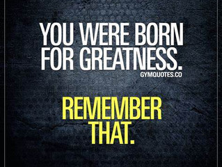 Step into your greatness