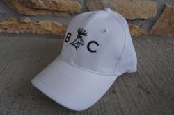 Bee & C Farms White Ball Cap