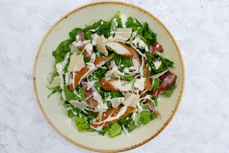 Gluten-free Chicken Caesar Salad