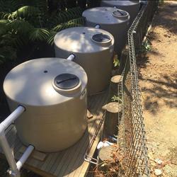 Retention & detention rain water tanks