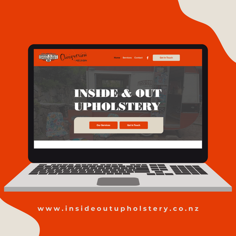 Inside Out Upholstery website