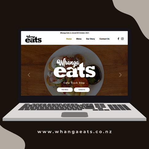 Whanga Eats Whangaripo Valley website