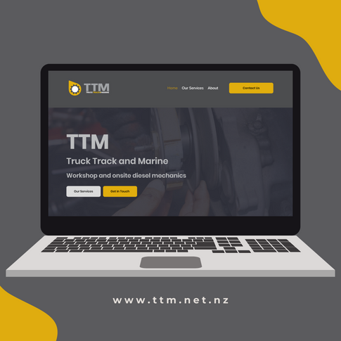 Truck, Track and Marine website
