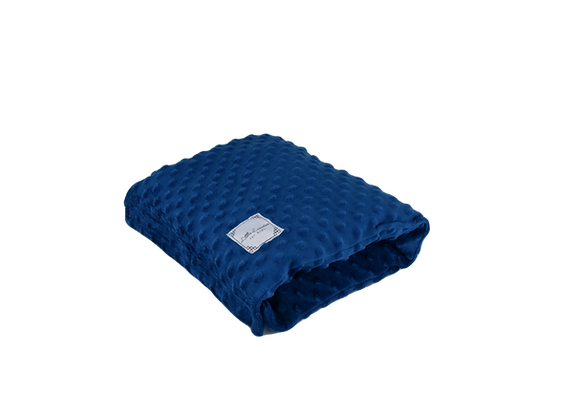 ARM PILLOW - ALL MINKY DARK BLUE