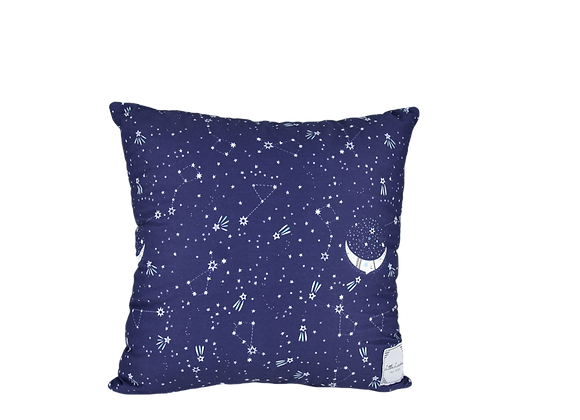 DECORATIVE PILLOW SQUARE - MIDNIGHT STARS