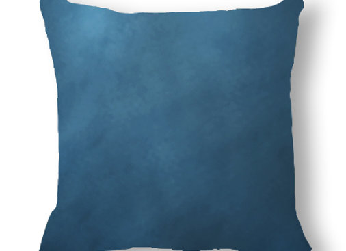 DECORATIVE PILLOW SQUARE - MINKY DARK BLUE