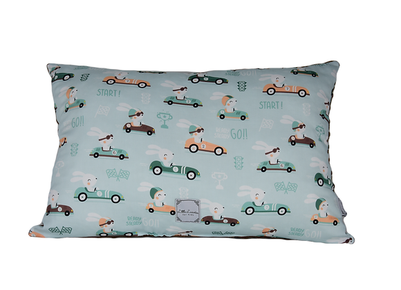 PILLOW - RACE CARS