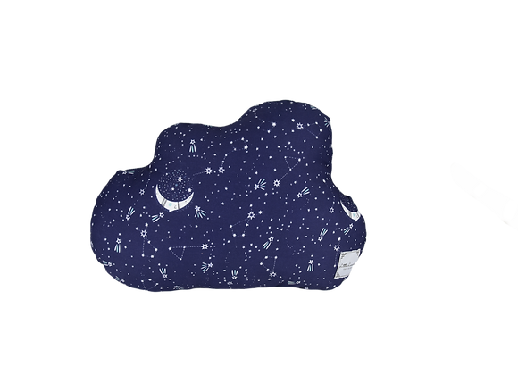 DECORATIVE PILLOW CLOUD  - MIDNIGHT STARS