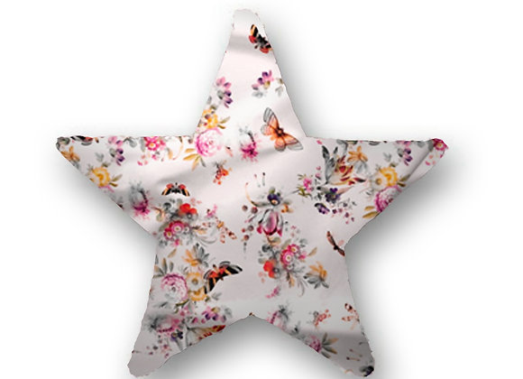 DECORATIVE PILLOW STAR - BUTTERFLY BLOSSOM