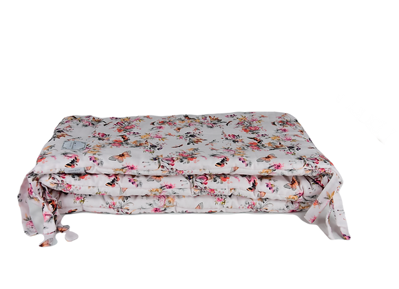 BED BUMPER - BUTTERFLY BLOSSOM