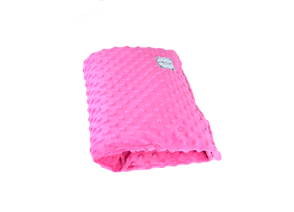 ARM PILLOW - ALL MINKY PINK