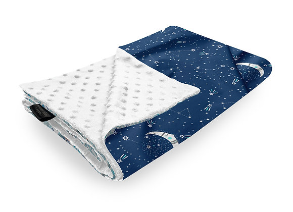 MINKY BLANKET MIDNIGHT STARS