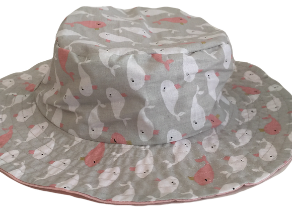 REVERSIBLE BUCKET HAT CA15