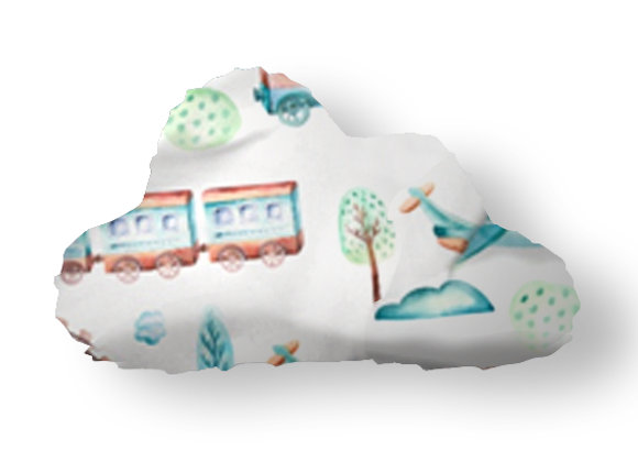 DECORATIVE PILLOW CLOUD  - MY WAGON TRAIN
