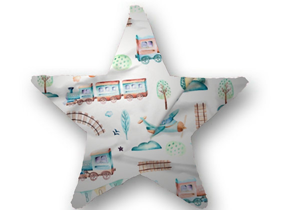 DECORATIVE PILLOW STAR  - MY WAGON TRAIN